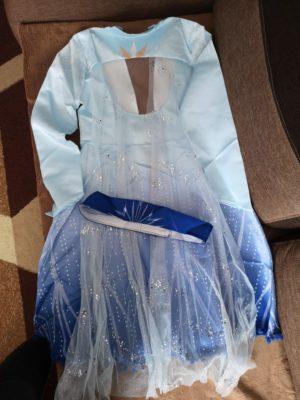 Шикарное платье Эльзы!